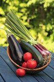 Colorful Vegetables Arrangement