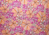 Pink and Orange Spring