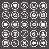 Round Web Icons