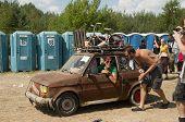 Kostrzyn, Poland - July 31: Przystane Woodstock Festival.