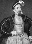 Henry Grey, 1st Duke of Suffolk (1515-1554). Engraved by W.Holl and published in Lodge's British Por