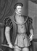 Thomas Howard (1536-1572). Engraved by W.Holl and published in Lodge's British Portraits encyclopedi