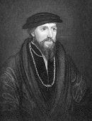 Anthony Denny (1501-1549). Engraved by W.T.Mote and published in Portraits and Memoirs of the Most I