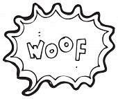 cartoon dog bark