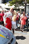 LOS ANGELES, CA - APR 16: Tito Ortiz, Jenna Jameson at the Toyota Grand Prix Pro Celeb Race at Toyot
