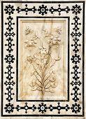 Detalle de Palas decoradas