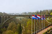 Adolphe Bridge At Luxembourg City