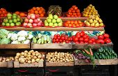 Vegetable & Fruit Market Stall