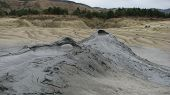 Tourist attraction, Mud Volcanoes From Buzau, Romania