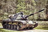 American M60 Patton Combat Army Main Battle Tank