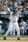 NEW YORK - MAY 20: Carlos Delgado #21 of the New York Mets prepares to hit against the New York Yank