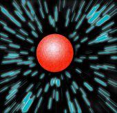 Orange Planet Blue Zoom Stars