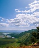 Mount Gilboa View From The Top ,israel