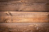 Cracked Wooden Background. Horizontal Lines On Wood Fence. Vintage Rustic Pattern For Decoration Des poster