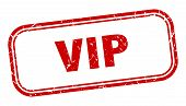 Vip Stamp. Vip Square Grunge Sign. Vip poster
