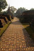Sukhothai Historical Park Pathway poster