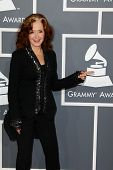 LOS ANGELES - FEB 10:  Bonnie Raitt arrives at the 55th Annual Grammy Awards at the Staples Center o