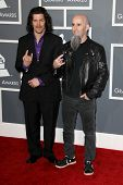 LOS ANGELES - FEB 10:  Anthrax arrives at the 55th Annual Grammy Awards at the Staples Center on Feb