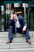 Empresario infeliz