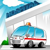 Постер, плакат: Скорая помощь в больнице