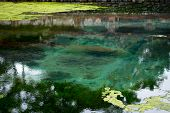 Balinese Holy Spring In Tirta Empul Temple