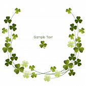 Shamrocks Decoration Border