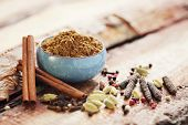 picture of garam masala  - homemade garam masala  - JPG