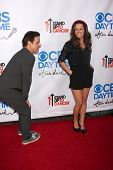LOS ANGELES - OCT 8:  Christian LeBlanc, Melissa Claire Egan at the CBS Daytime After Dark Event at