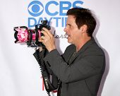 LOS ANGELES - OCT 8:  Christian LeBlanc at the CBS Daytime After Dark Event at Comedy Store on Octob