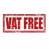 Vat Free-stamp