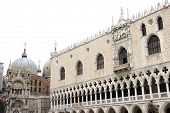 Doge's Palace And The Cathedral Of San Marco In Venice