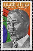 Republic Of South Africa - Circa 1999: A Stamp Printed In Rsa Shows Nelson Mandela, Circa 1999