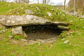 Stone age burial site in Western Scotland