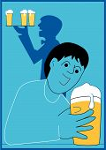 Boy And Beer
