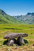 Dolmen In The Spanish Pyrenees