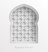 Vector 3D Muslim Paper Graphics