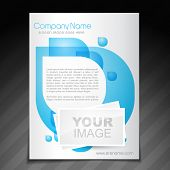 vector company flyer brochure magazine cover and poster template