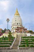 Kek Lok Si Temple On The Island Of Penang In Malaysia