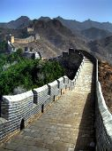 Great wall of China at Simatai / Jinshanling
