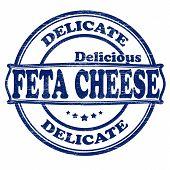 Delicate feta cheese