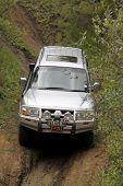 Silver Mitsubishi Pajero Dhd