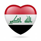 Heart icon of Iraq