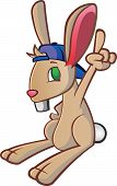 Bunny Rabbit Baseball Cap Cartoon Character