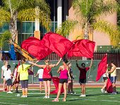 University Of Southern California Flag Twirlers