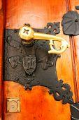 Wrought Iron Door Handle