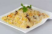 picture of malaysian food  - Indian food biryani rice or briyani rice - JPG