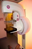 Mammogram X-ray Machine In A Hospital