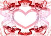 Valentines Element Frame 3D