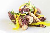 Warm Octopus Salad