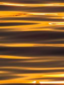 Natural textile pattern of the surface sunset lake